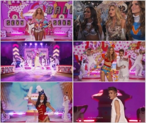 Justin Bieber - Beauty And A Beat (Live @ Victoria Secret Fashion Show) HD 720p