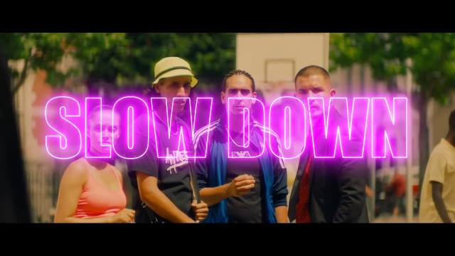 Dimitri Vegas & Like Mike vs Quintino feat. Boef, Ronnie Flex, Ali B, I am Aisha - Slow Down (OST - Gangsta) (2018) HD 1080p