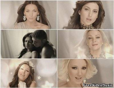 Ирина Дубцова, Алсу, Жасмин, Татьяна Буланова, Лера Кудрявцева - Спи, мое солнышко (2010)