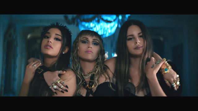 Ariana Grande, Miley Cyrus, Lana Del Rey - Don't Call Me Angel (OST - Charlie's Angels) (2019) HD 1080p