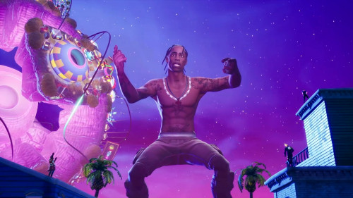 THE SCOTTS (Travis Scott, Kid Cudi) - THE SCOTTS (FORTNITE ASTRONOMICAL EVENT) HD 1080p
