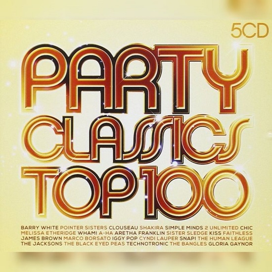 VA - Party Classics Top 100 (5CD) 2013