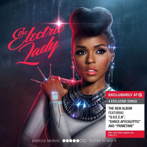 Janelle Monae - The Electric Lady (Target Deluxe Edition) 2013