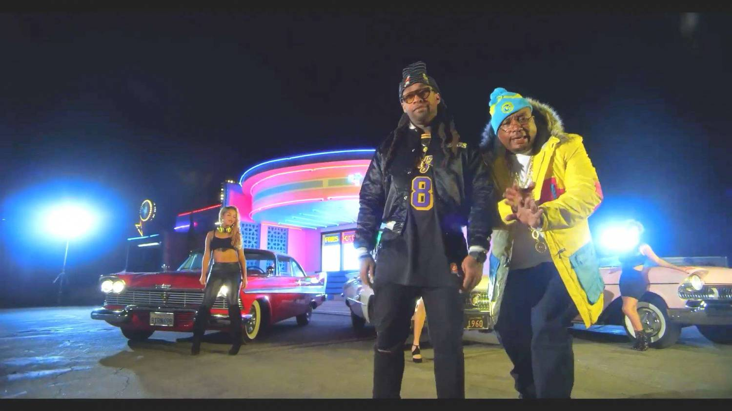 E-40 feat Juicy J & Ty Dolla $ign - Chitty Bang (2014) HD 1080p