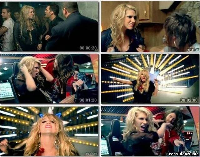 Ke$ha feat. 3oh!3 - Blah Blah Blah (2010)