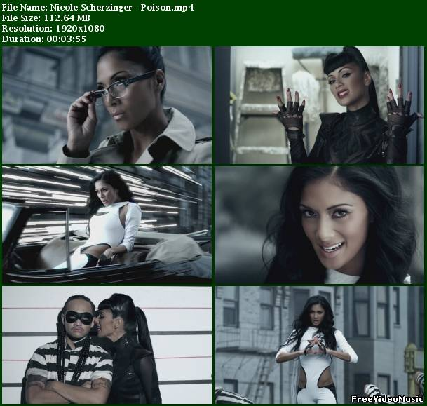 Nicole Scherzinger - Poison (UK Version) 2010 HD 1080p