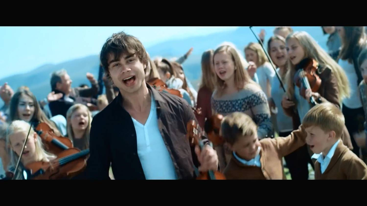 Alexander Rybak (Александр Рыбак) - Into A Fantasy (OST - How To Train Your Dragon 2) (2014) HD 1080p