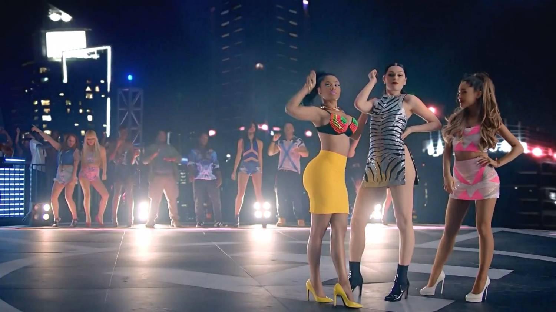 Jessie J, Ariana Grande, Nicki Minaj - Bang Bang (2014) HD 1080p