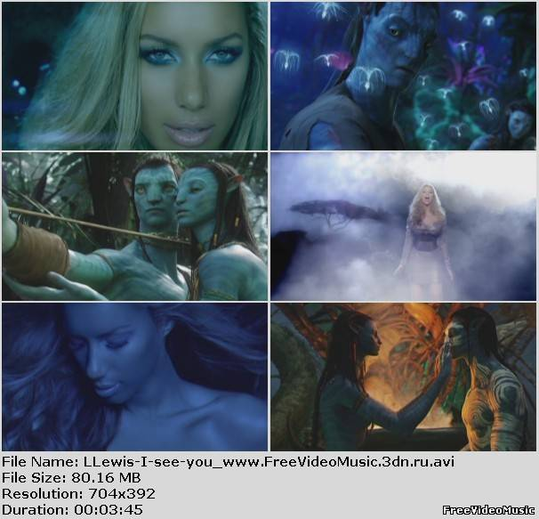 Клип leona lewis саундтрек к фильму аватар.. i see you