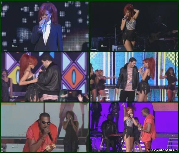 Rihanna - Medley (Live at NBA 2011 All Star-Game Halftime Show 20.02.2011) HDTV 720i