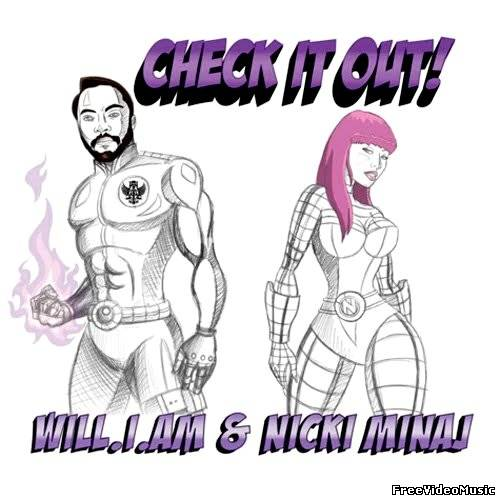 Текст песни Nicki Minaj feat. Will.I.Am - Check It Out