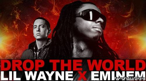 Текст песни Lil Wayne feat. Eminem - Drop The World