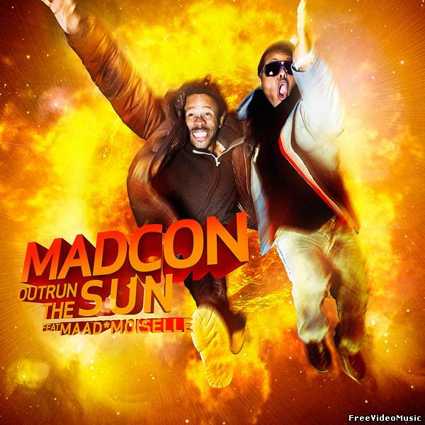 Текст песни Madcon feat. MaadMoiselle - Outrun The Sun