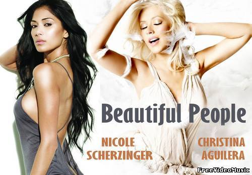 Текст песни Nicole Scherzinger & Christina Aguilera - Beautiful People