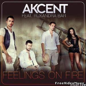 Текст и перевод песни Akcent ft Ruxandra Bar - Feelings On Fire