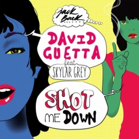Текст и перевод песни David Guetta feat Skylar Grey - Shot Me Down